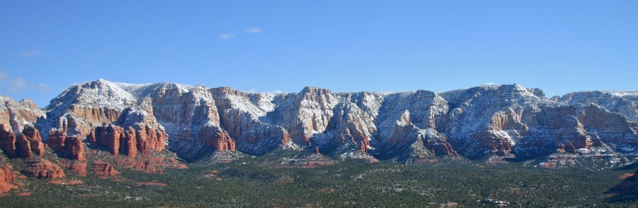 Winter Snow in Sedona